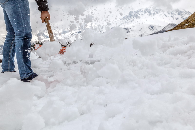 Übersicht Schneeräumung